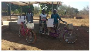 Les femmes accompagnantes chargées de la distribution des suppléments auprès des femmes enceintes